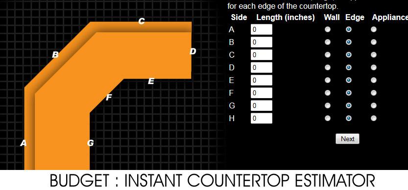 Instnt Countertop Estimator