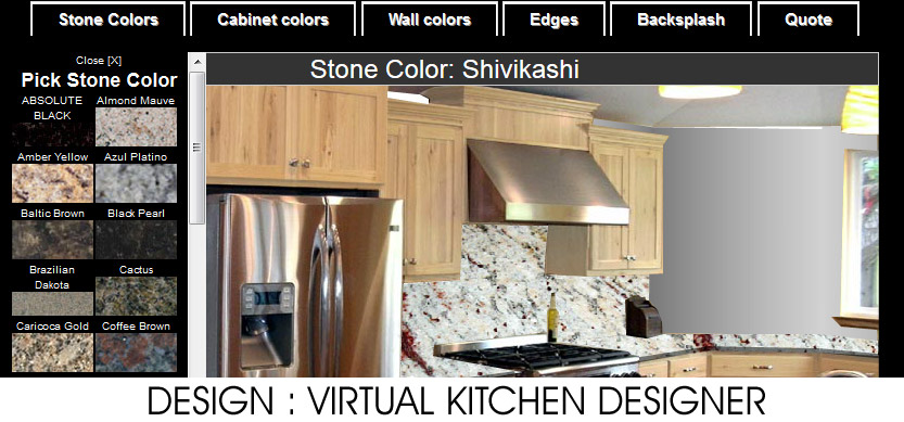 Endicott ny granite countertops free instant estimate granite makeover Help design kitchen colors