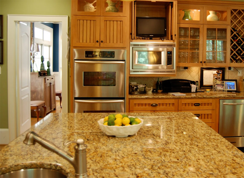 Kitchen Amber Yellow