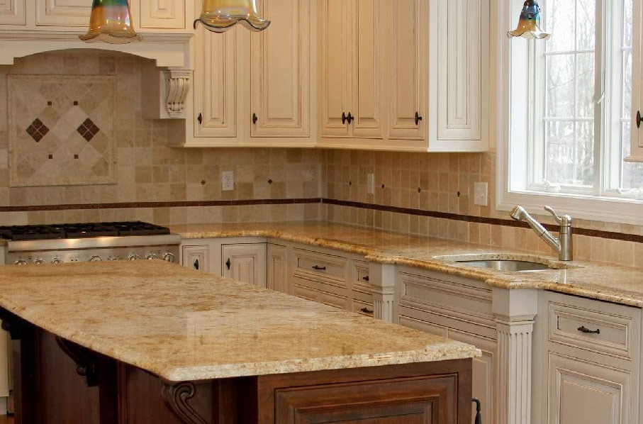Kitchen Colonial Gold