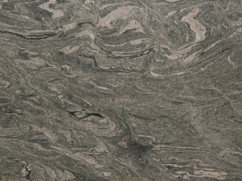 White Wave Granite Kitchen