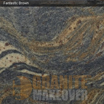 Fantastic Brown - Houston Texas Costa Granite and Marble