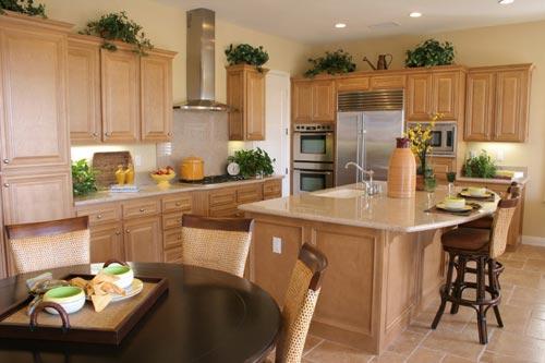 Granite Kitchen Countertop Transitional Fort Wayne MKD Kitchens, IN