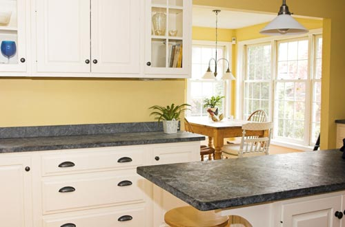 GraniteKitchenCountertop1black Granite Makeover