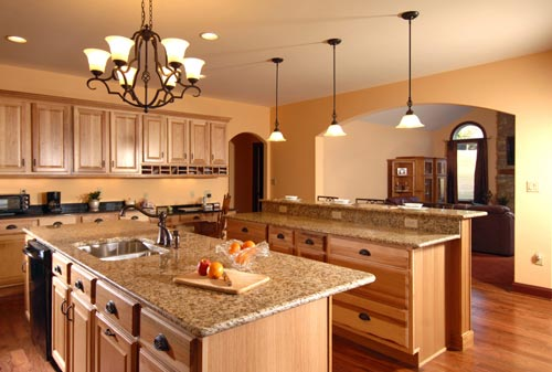Beautiful GraniteKitchenCountertopBrown