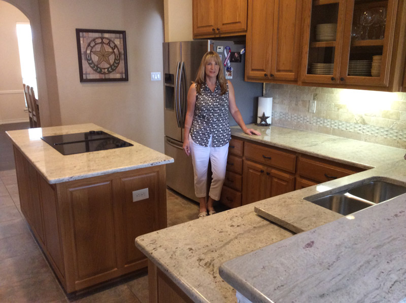kashmir white granite countertops in San Antonio Texas