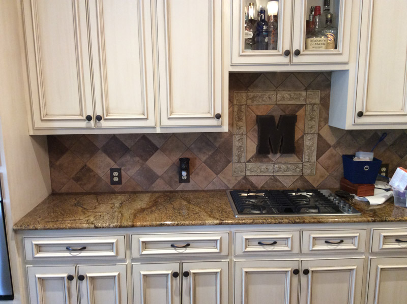 san antonio Backsplash custom
