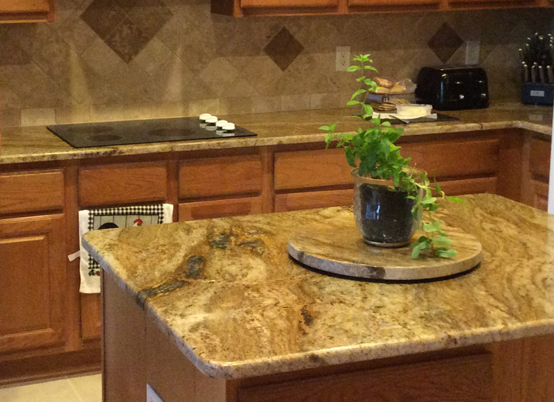 san antonio granite countertops detail in San Antonio Texas