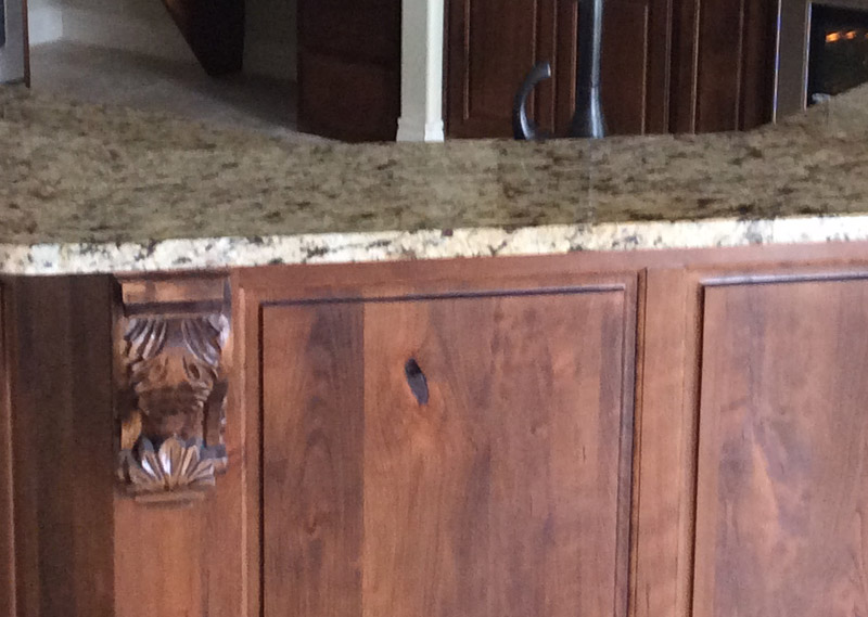 san antonio granite countertops island detail