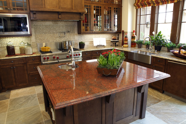 colonial granite countertops richmond va red Granite Makeover