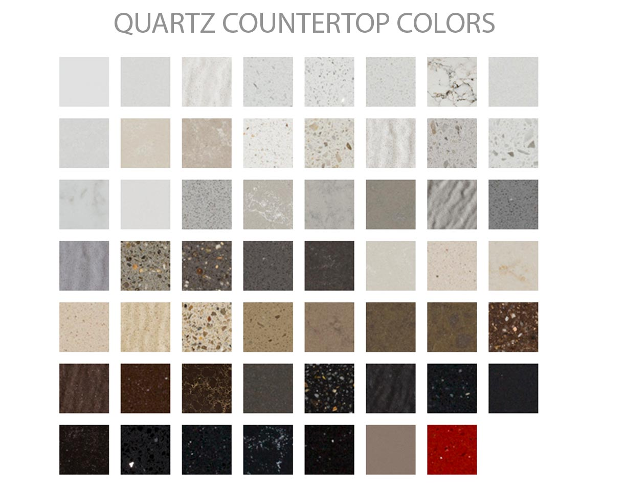 Quartz Countertop Colors : Irvine starting at per sf countertops