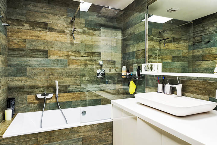 custom bathroom tile quartz countertops top mountsink New Image Marble and Granite