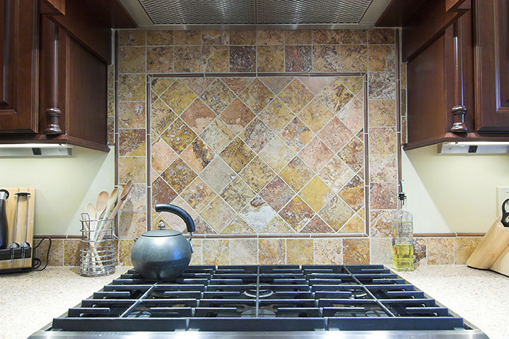 granite countertops back splash