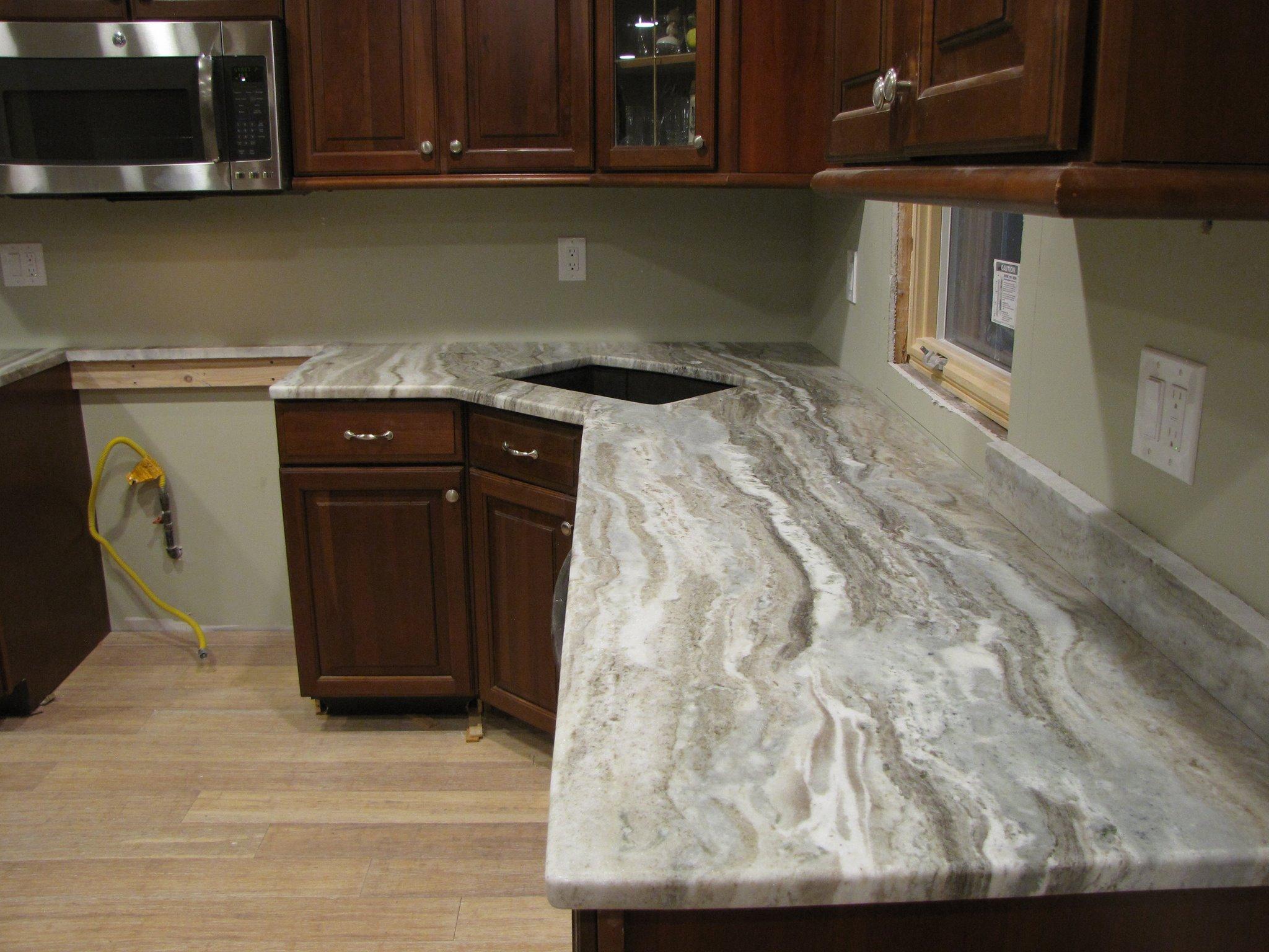 long island NY white countertops undermount sink2